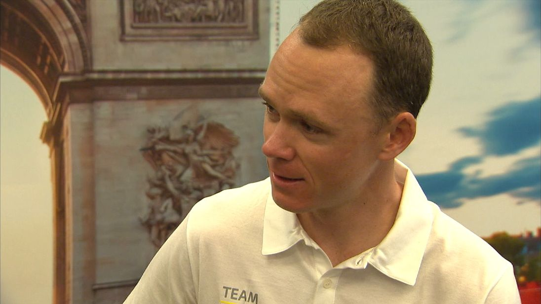 Chris Froome would like to race five more tours