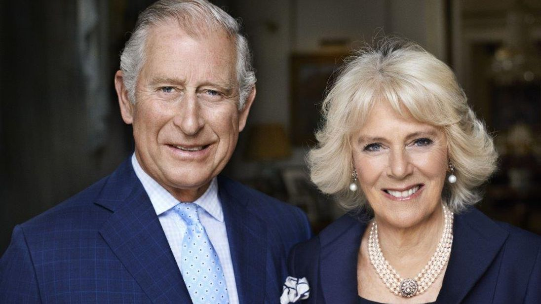 Photograph to mark the Duchess of Wales' 70th birthday. Pic: Mario Testino/PA Wire