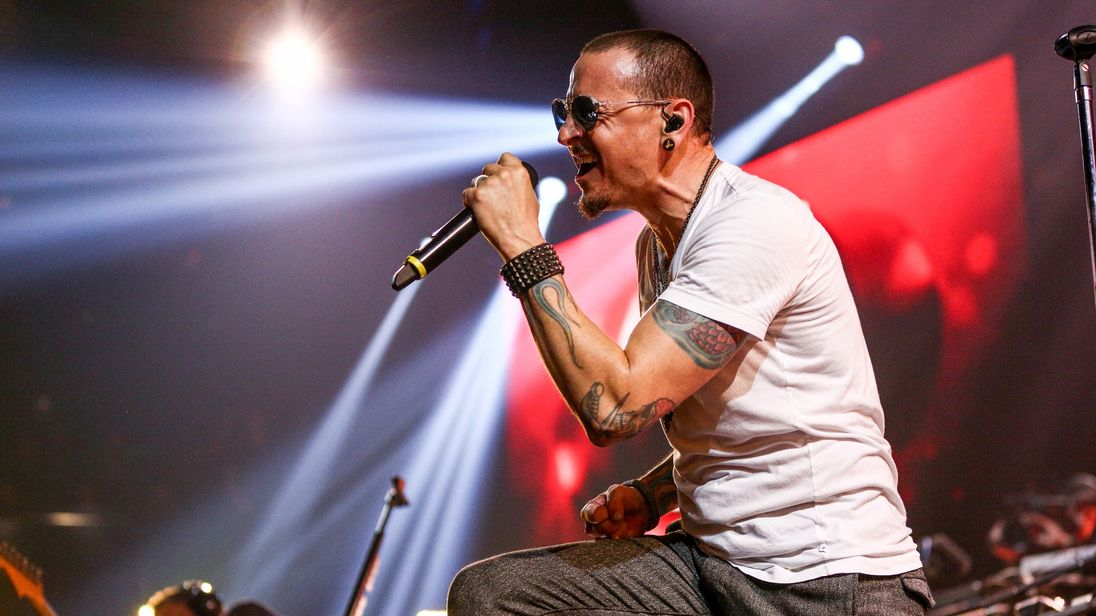 Linkin Park singer Chester Bennington
