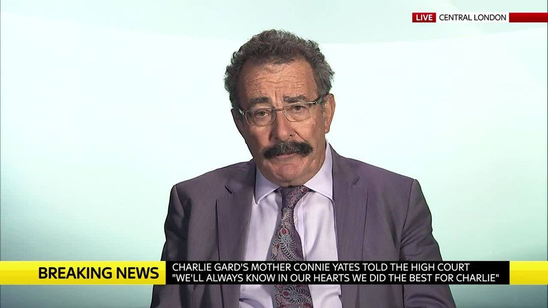 Lord Winston says Charlie Gard's parents made the right decision