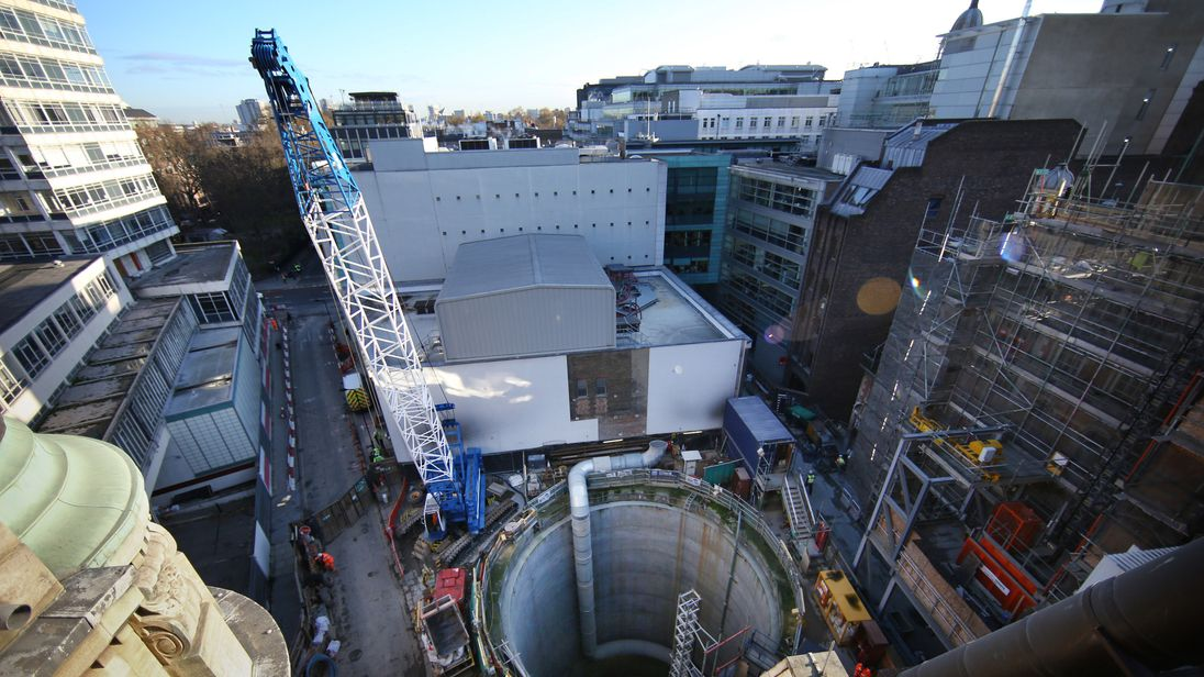 All three incidents took place in the tunnels around the Fisher Street area of central London