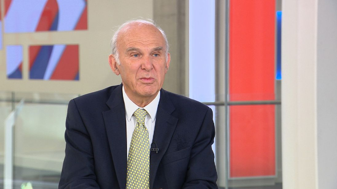 Sir Vince Cable says his age will not stop him being a good leader for the Lib Dems.