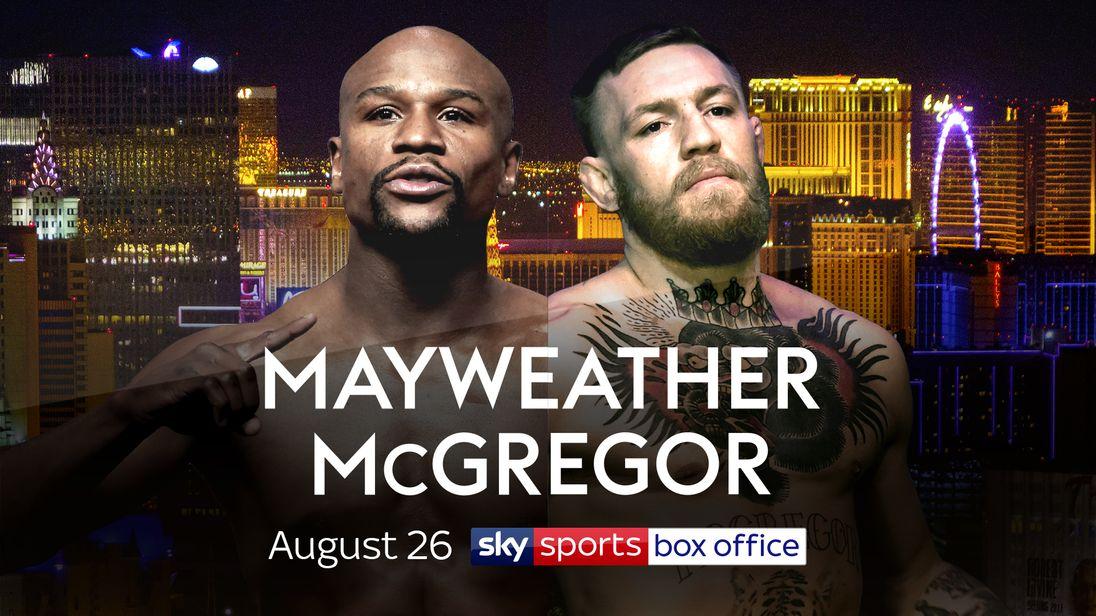 Mayweather Mcgregor Live