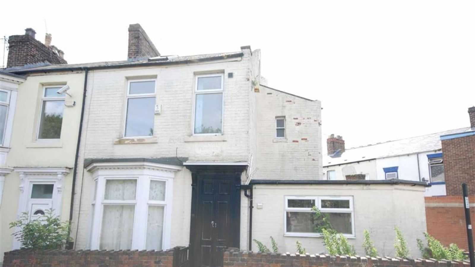 House on sale for 1 but dare you step inside for Whats a terrace house