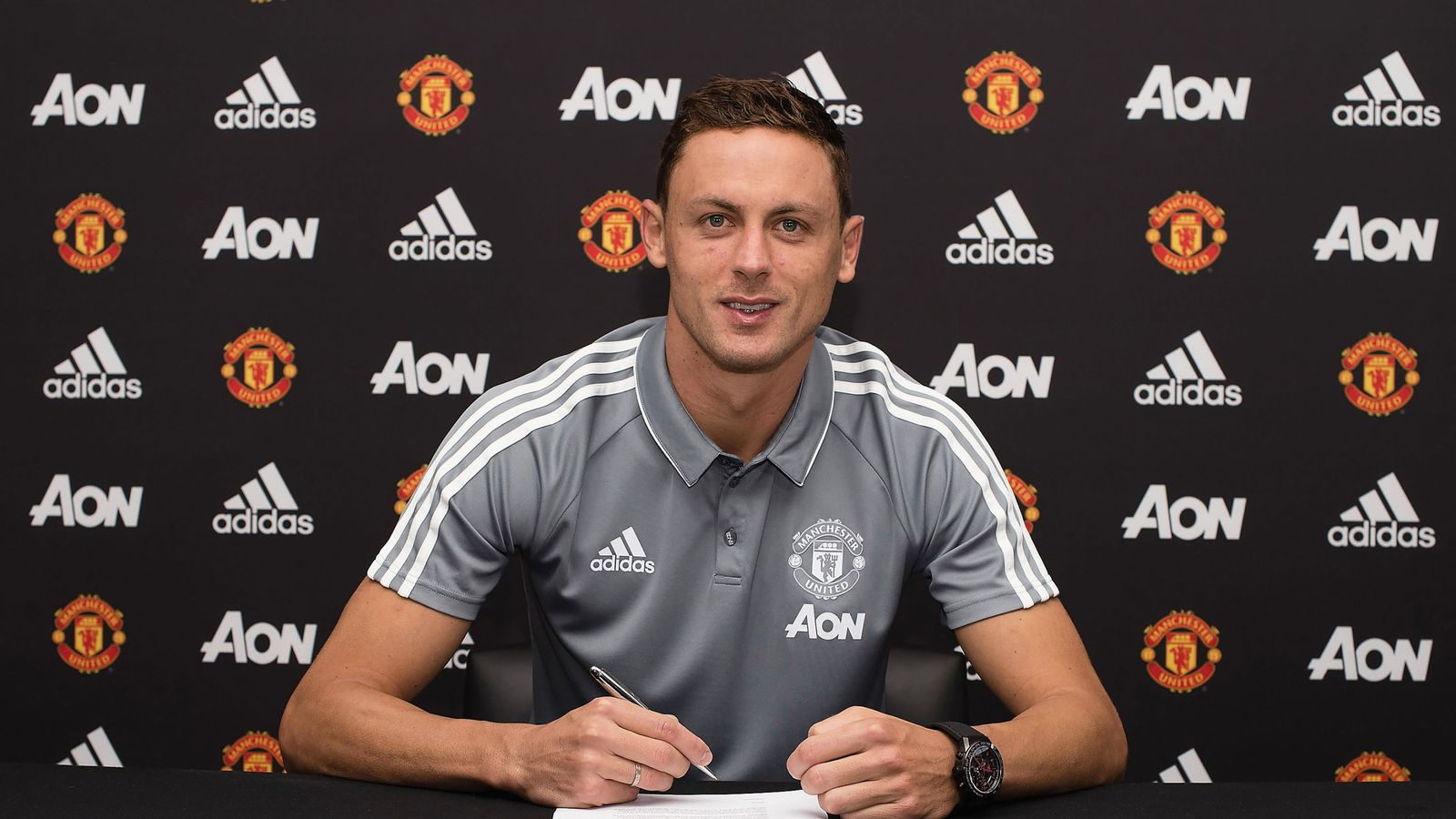 Manchester United sign Nemanja Matic from Chelsea