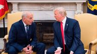 John F Kelly (L) is now the highest ranking White House employee