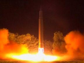 North Korea missile launch 28/07/17