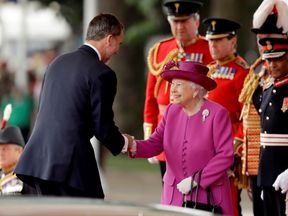 The Queen welcomes King Felipe of Spain on Horse Guards Parade