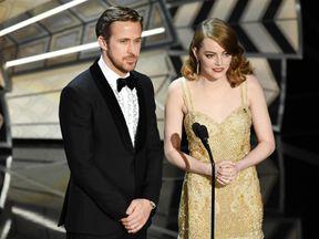 Emma Stone and Syran Gosling starred in La La Land in 2016