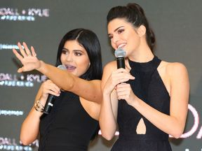 Kylie and Kendall
