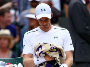 Andy Murray was beaten in five sets in the Wimbledon quarter final