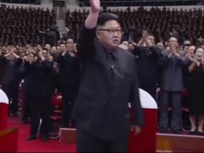 Kim Jong Un attended a celebration of North Korea's successful launch of an intercontinental ballistic missile