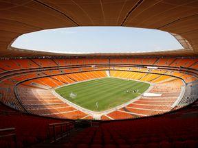 FNB Stadium in Johannesburg. File picture