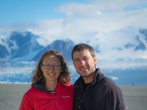 A British couple will make history as they become the first to tie the knot in the British Antarctic Territory.