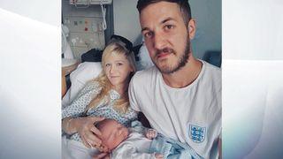 Connie Yates and Chris Gard with their son Charlie Gard