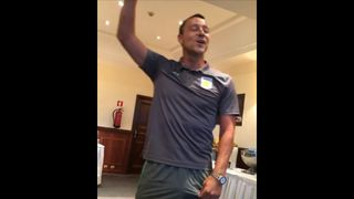 John Terry serenades his new Aston Villa team mates