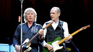 Rick Parfitt and Francis Rossi of Status Quo perform at The Prince's Trust Rock Gala 2010
