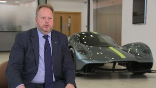 Aston Martin chief executive Andy Palmer says much greater investment is needed