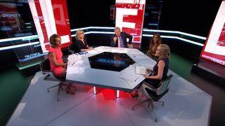 The panel debate Donald Trump's brand of comedy