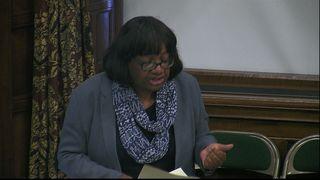 Diane Abbott details the abuse she has received as an MP