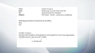 PART 8 - Trump Jr email exchange