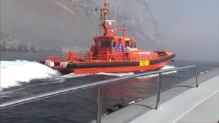 The crew was told to leave Gibraltarian waters but returned 30 minutes later