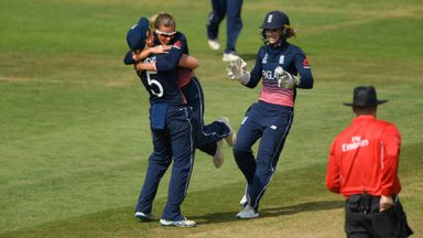 England Women edge Aussies in thriller
