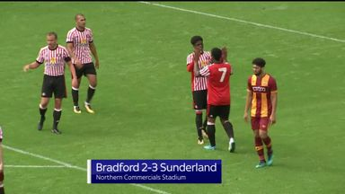 Pre-season: Bradford 2-3 Sunderland
