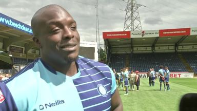 Akinfenwa: Glad pre-season is over