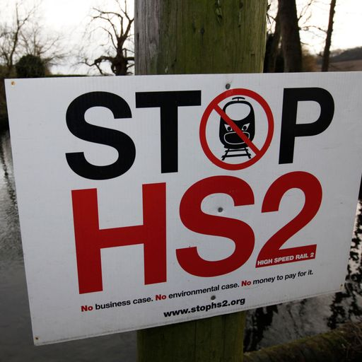 Cases for and against HS2