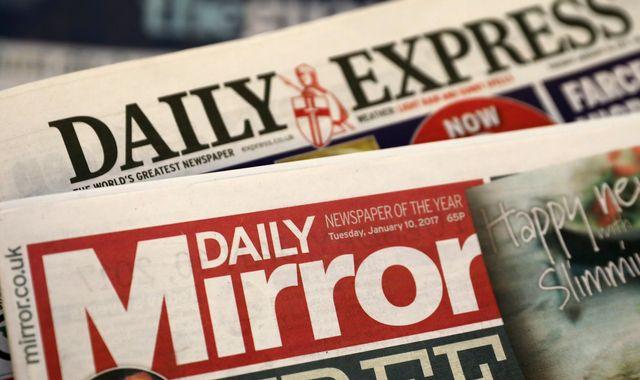 Coronavirus: Mirror and Express publisher Reach to cut 550 jobs