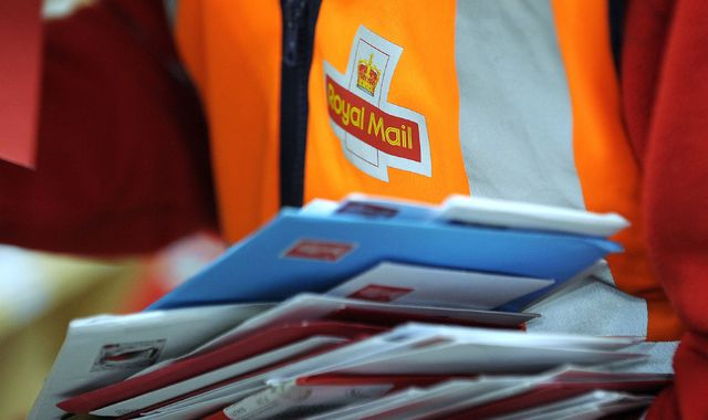 Union 'outrage' as Royal Mail secures injunction to block Xmas strikes