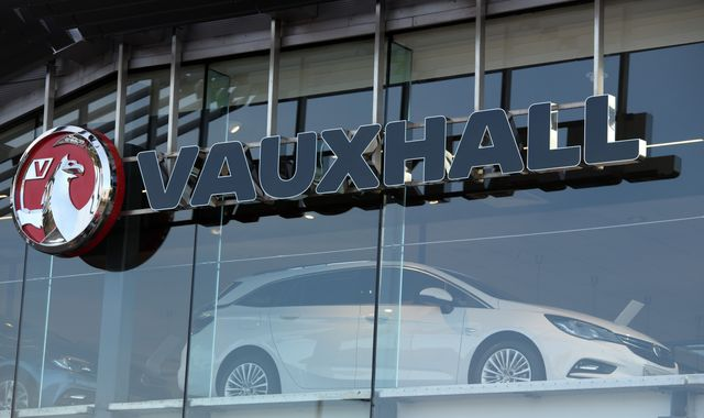 Vauxhall closing vehicle dealerships following drop in sales