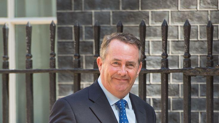 International Trade Secretary Liam Fox