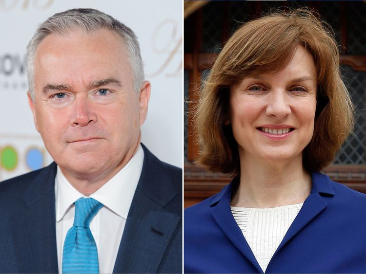 Fiona Bruce earns considerably less than Huw Edwards, but they host the same show