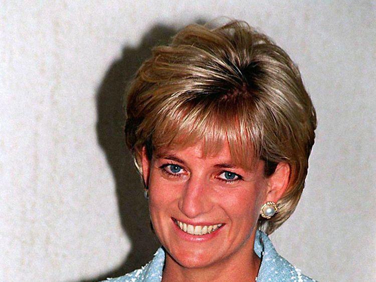 Princess Diana photographed in April 1997