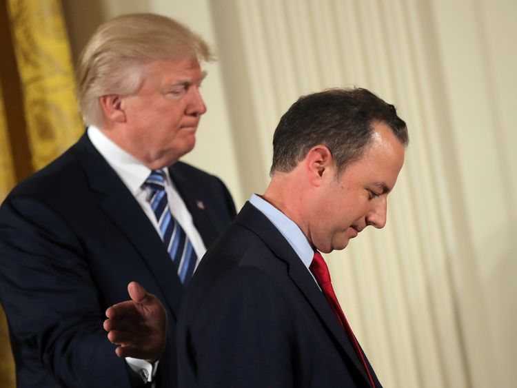 Donald Trump has fired Reince Priebus