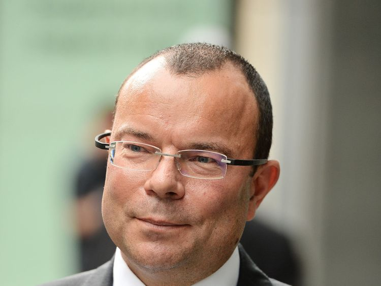 Finance expert, Jeffrey Blue arrives at the High Court in London, where he faces a dispute with Newcastle United owner and sportswear firm boss Mike Ashley. PRESS ASSOCIATION Photo. Picture date: Monday July 3, 2017.