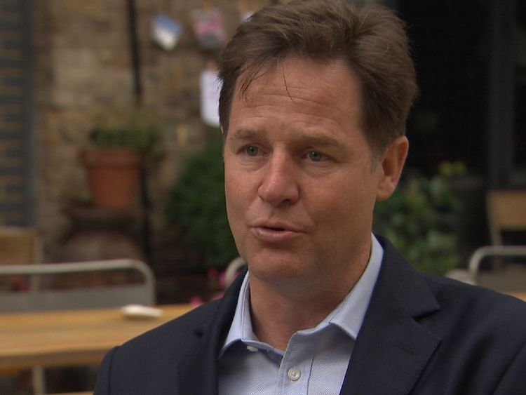 Nick Clegg says a weaker economy after Brexit will make austerity hard to alleviate
