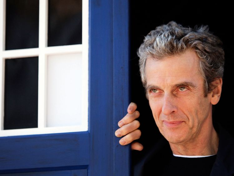 Twelfth Doctor, Peter Capaldi, poses during a world tour to promote the new series of Doctor Who at Dendy Opera Quays on August 12, 2014 in Sydney, Australia. (Photo by Lisa Maree Williams/Getty Images)
