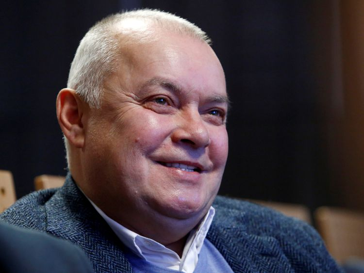 Dmitry Kiselyov:' The most we can hope is that they get to know each other'