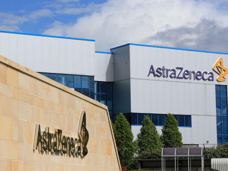 Pharmaceutical giant AstraZeneca