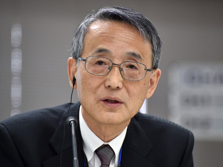 Shunichi Tanaka, chairman of Japan's Nuclear Regulation Authority