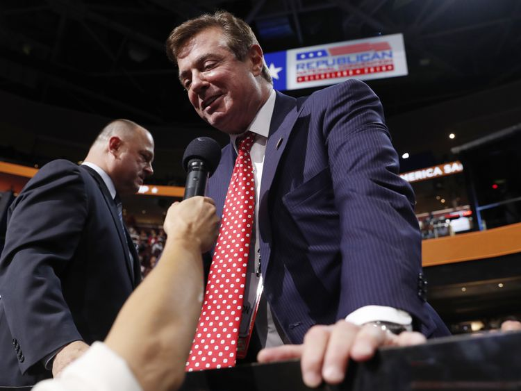 Paul Manafort is one of several people linked to the Trump campaign under scrutiny