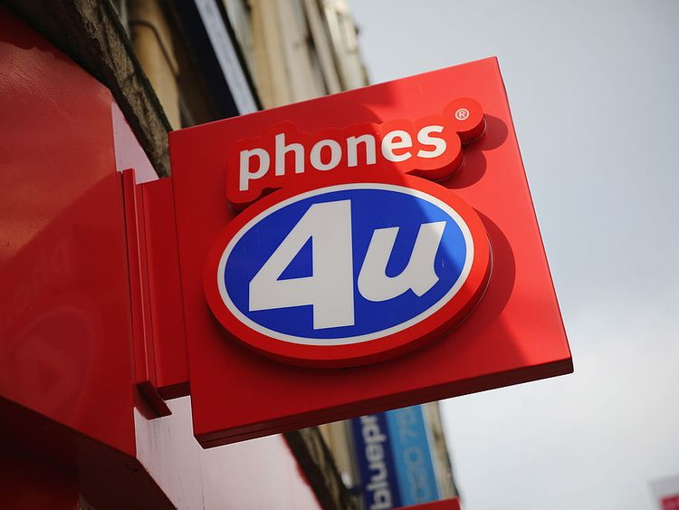 Phones4u collapsed in 2014 with the loss of thousands of jobs