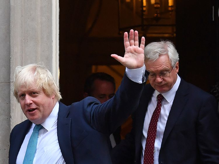 Boris Johnson resigns as British foreign secretary