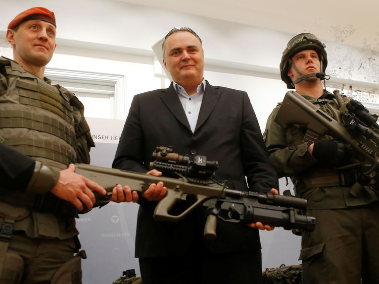 Austrian Defence Minister Hans Peter Doskozil has played down the diplomatic row with Italy