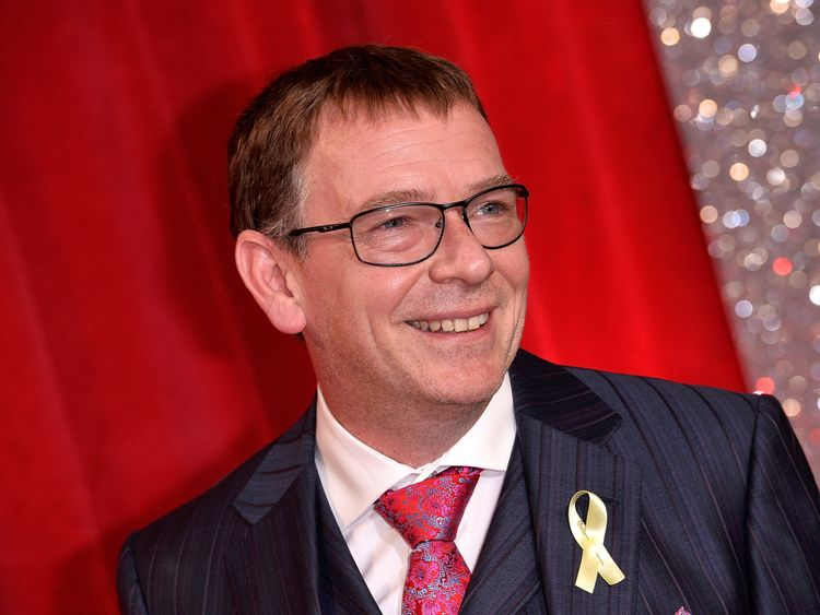 Adam Woodyatt is on par with Doctor Who actor Peter Capaldi