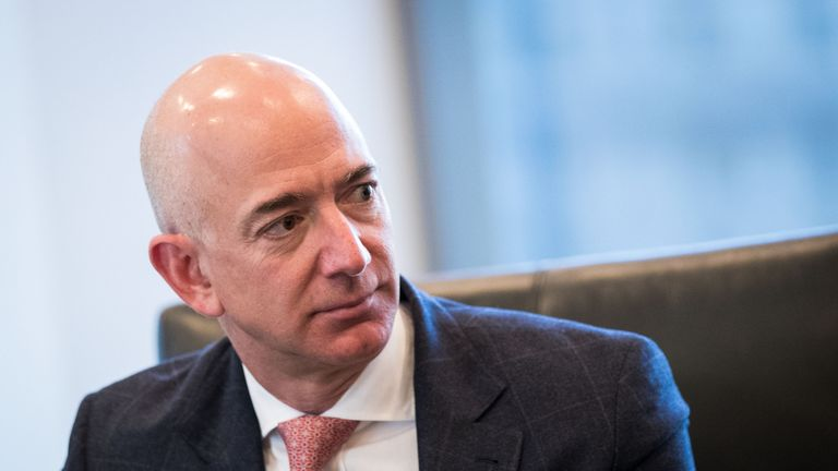 Jeff Bezos was, briefly, the richest man in the world