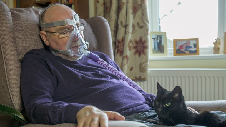 Noel Conway has motor neurone disease, and wants to make assisted dying legal for those with less than 6 months to live.